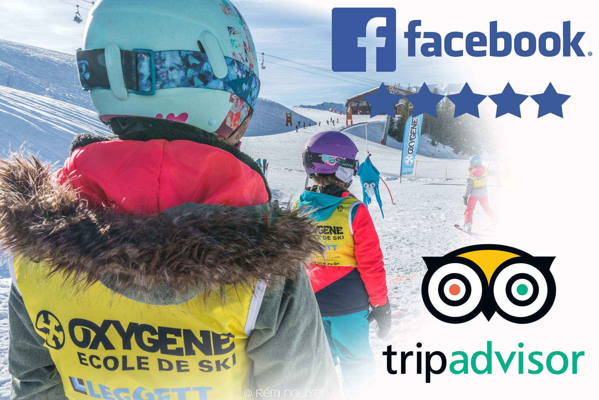 best ski lessons reviews for Oxygène ski school