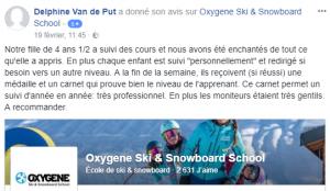 avis école de ski personnalisé la plagne