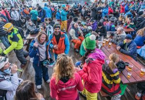 where to apres ski party courchevel la tania