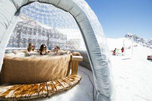 spring ski event la plagne sublicimes