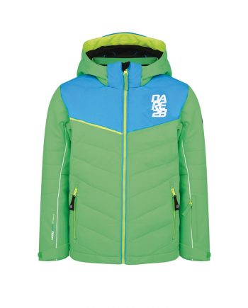 dare2b green ski jacket for rental - veste ski dare2b enfants vert en location