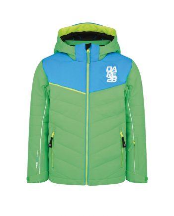 dare2b green ski jacket for rental - veste ski dare2b enfants vert en location