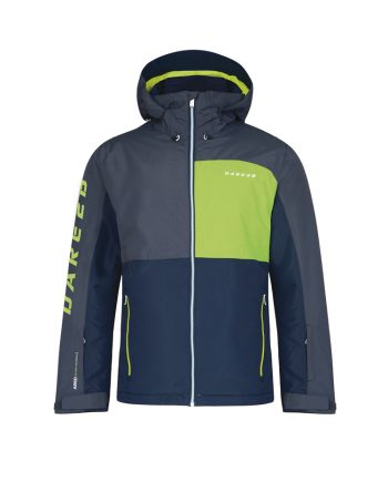 mens ski jacket rental dare2b grey - Oxygene ski clothing rental service, delivery in resort