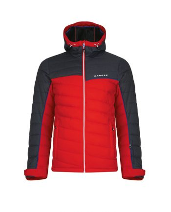 mens ski jacket rental dare2b red - Oxygene ski clothing rental service, delivery in resort