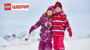 skiwear children kids to hire Legowear