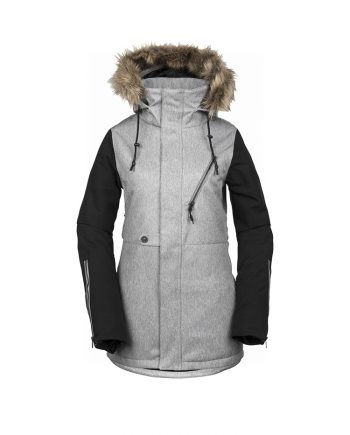women adult volcom ski jacket to rent with Oxygene