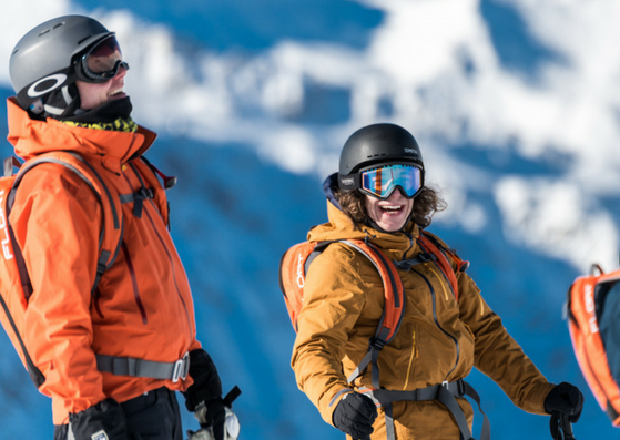 breathability for ski garment