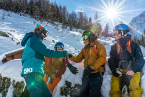 Ski lessons can make your holiday