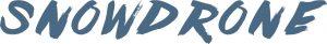 SnowDrone airport transfer company logo