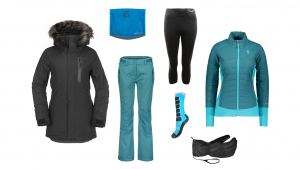 choosing ski clothing from baselayer to mid-layer and jacket and pants