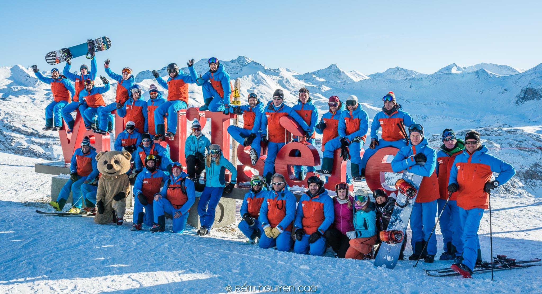 Val d'Isere instructors team