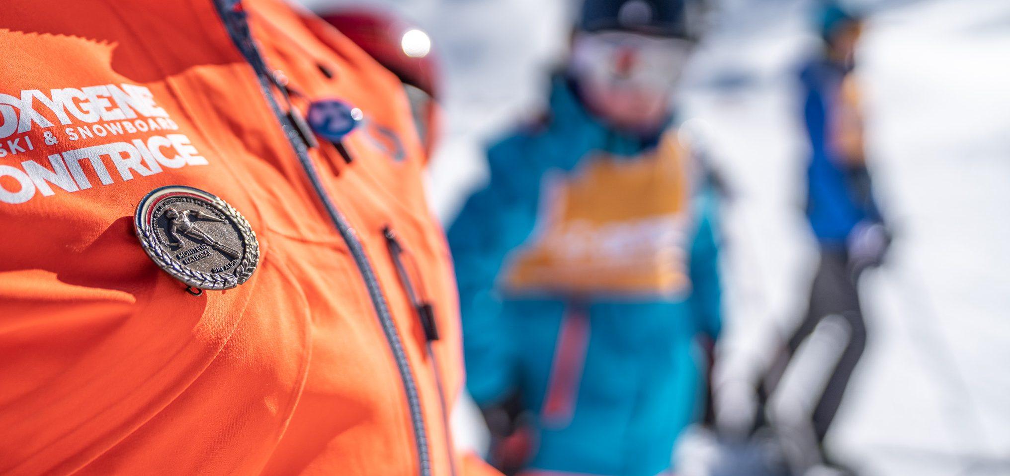 médaille de moniteur de ski alpin national diplome d'état