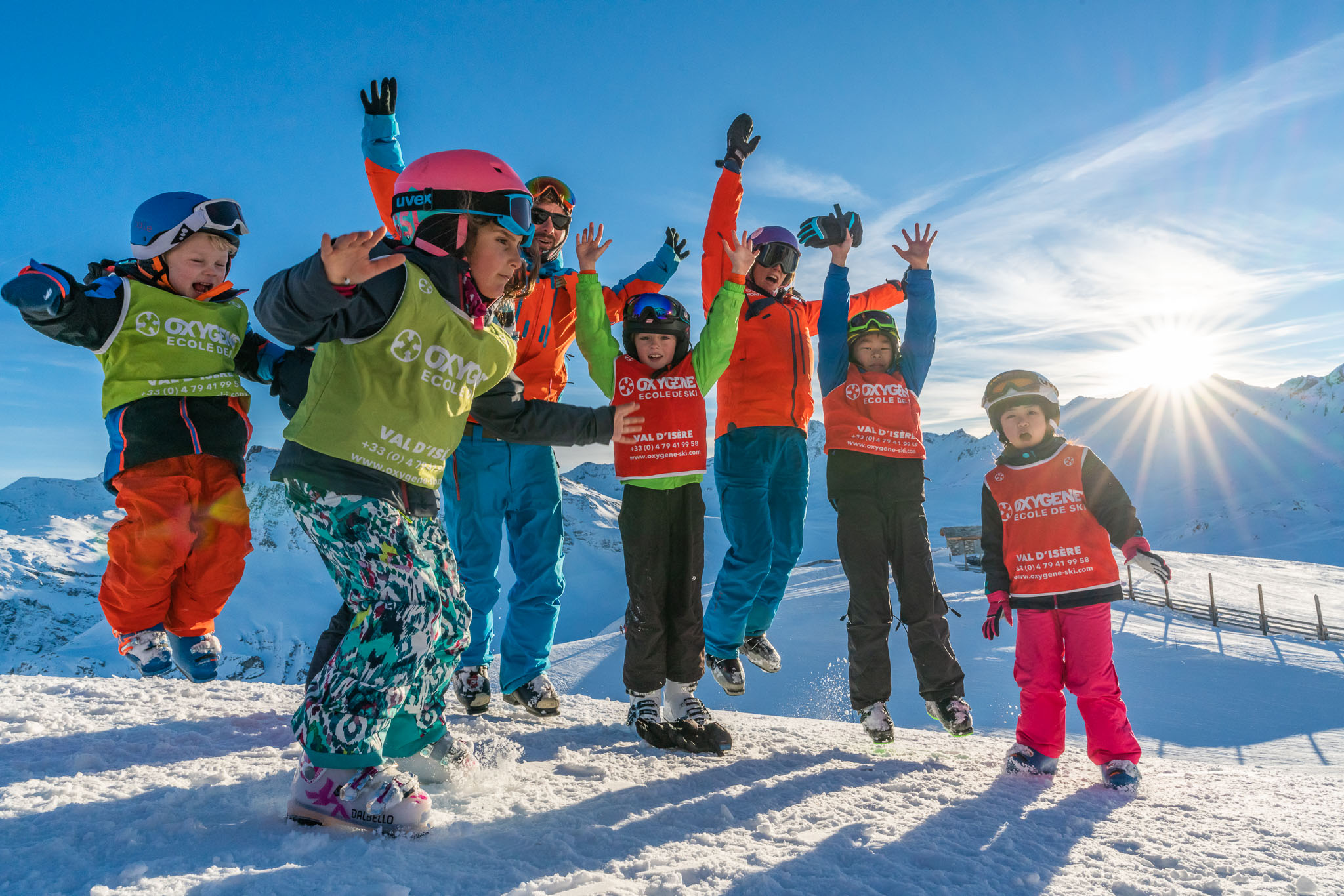Skiing with Oxygene is fun!