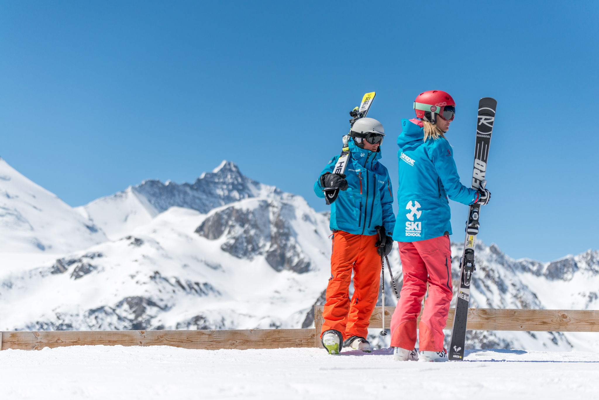 Which skis will you need to join the Ski Academy?