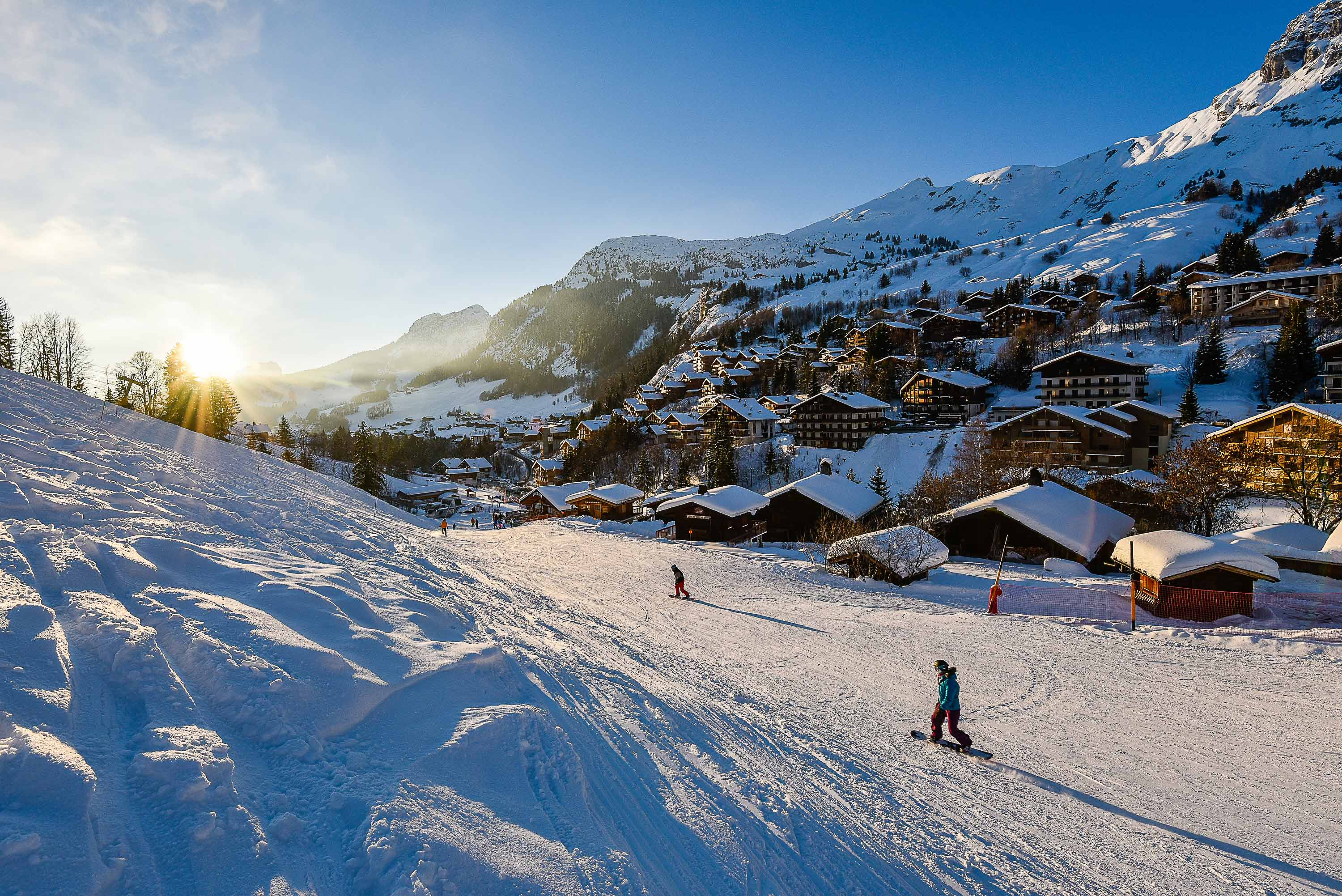 Le Grand Bornand ski resort David Machet