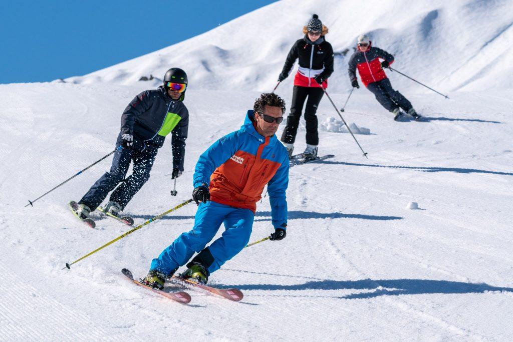 Oxygene private ski lesson