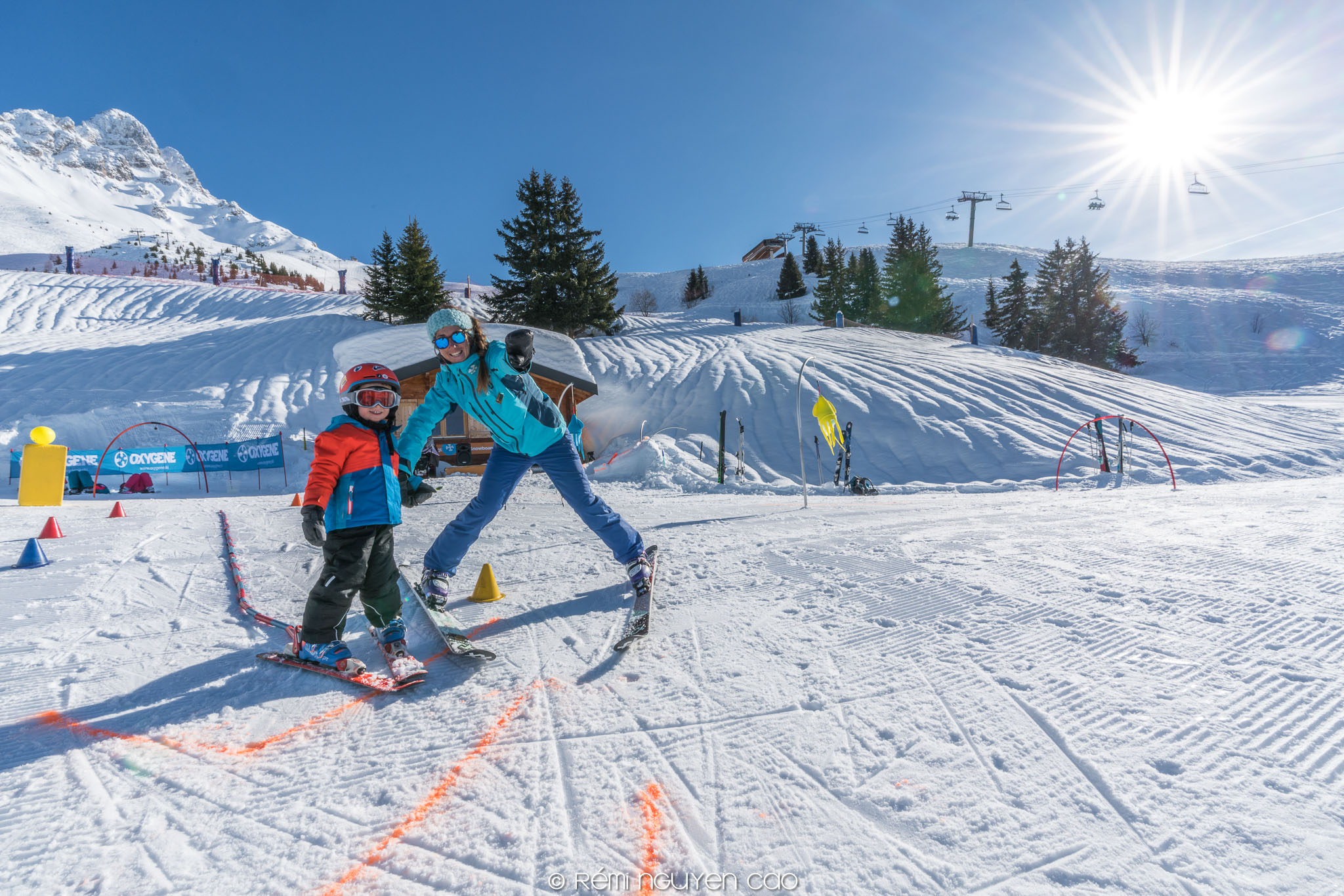 Kids Lessons in Meribel