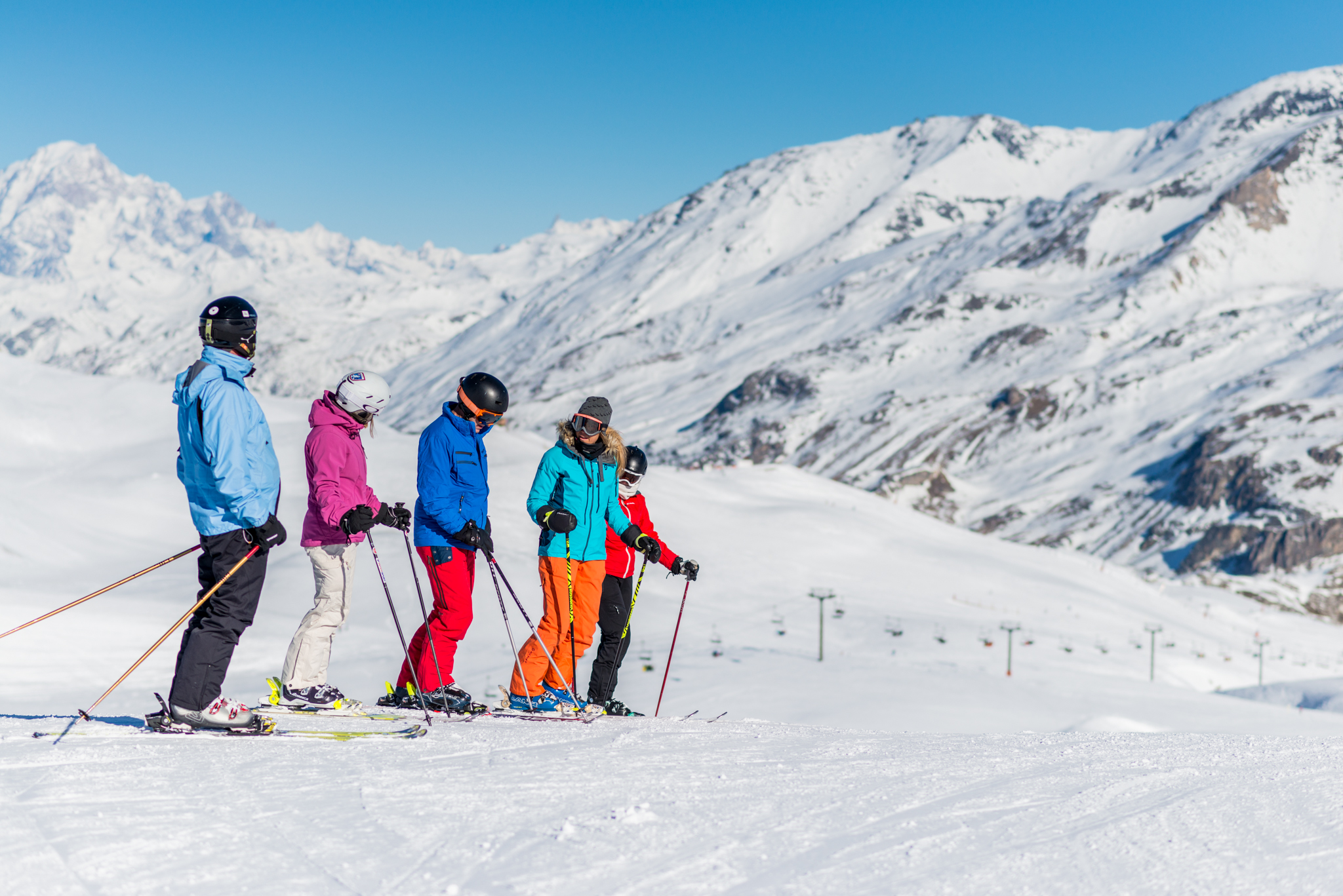 Adult Beginner Group Ski Lesson