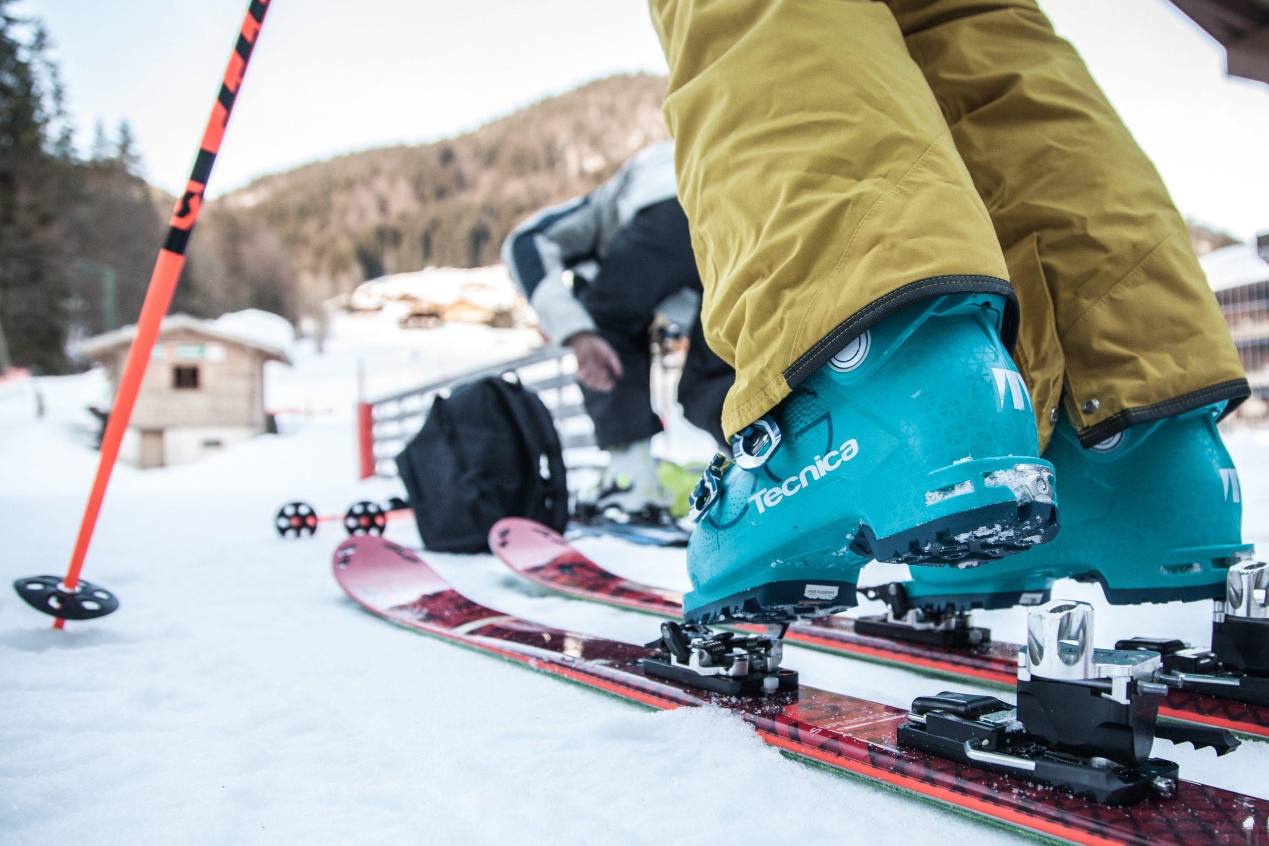 Ski Touring - Marc André Verpaelest - Grand Bornand Tourisme