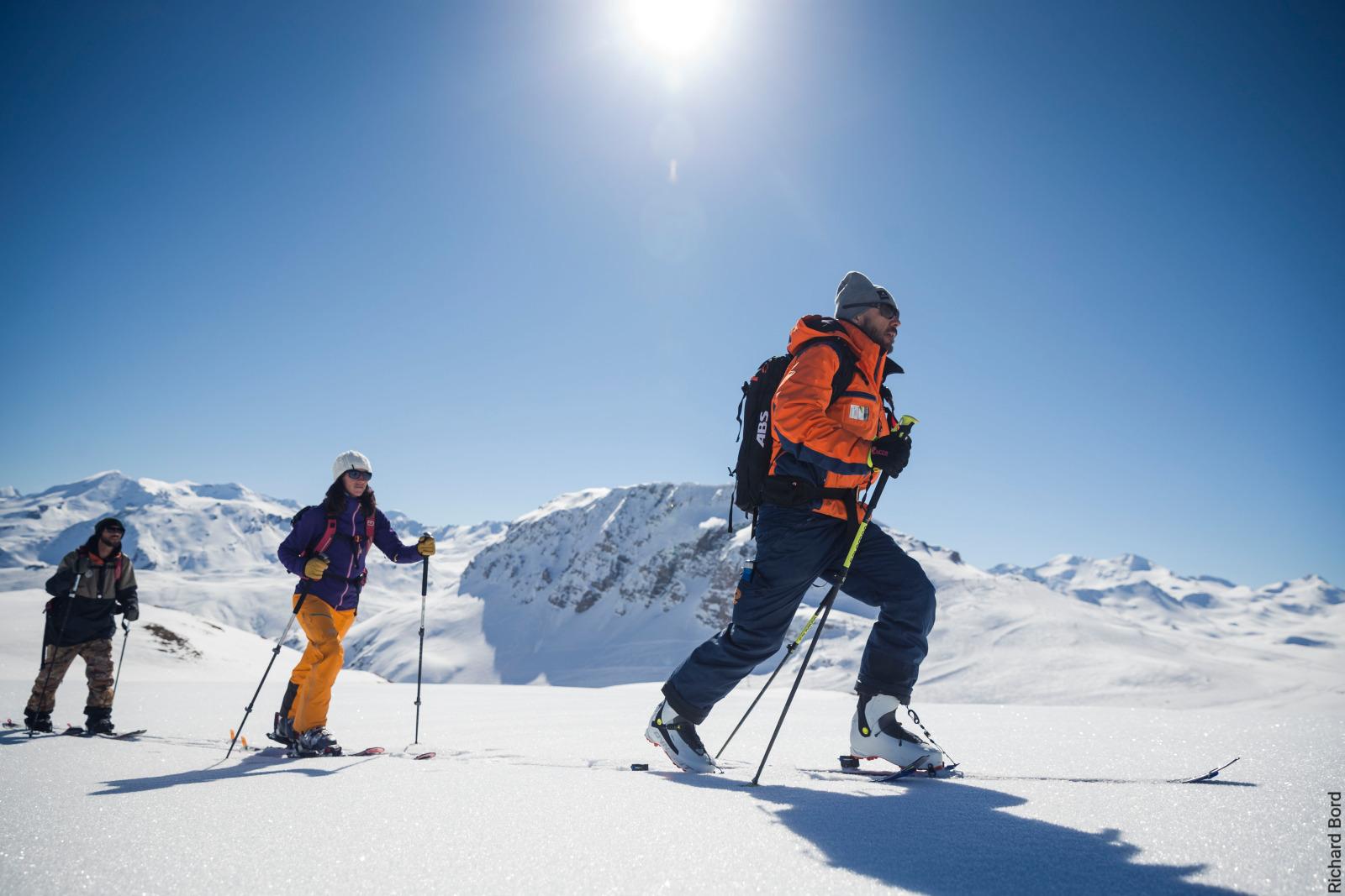 Ski touring - R. Bord - Val d'Isere Tourisme