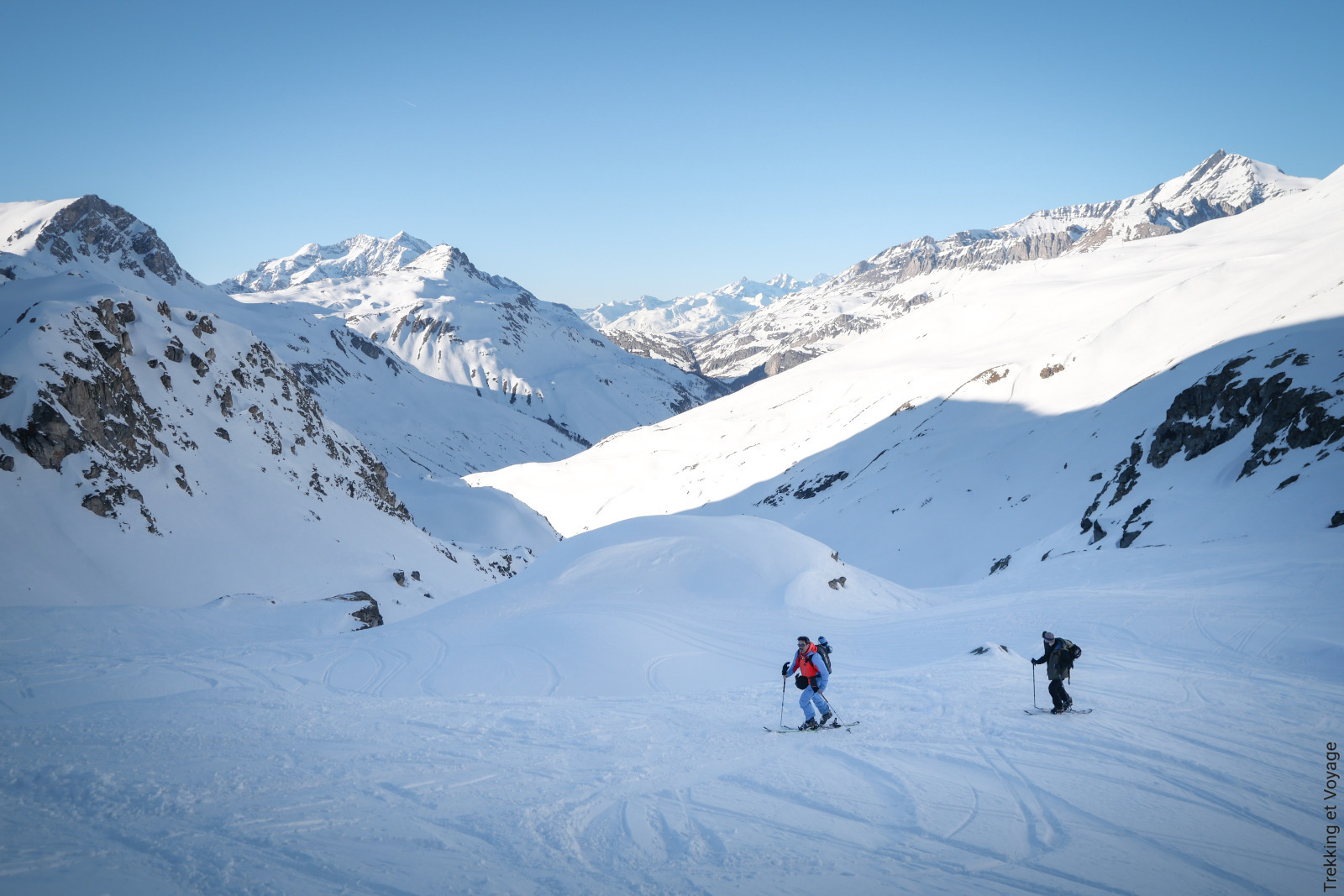 Ski Touring with Oxygene - Trekking et Voyages - Val d'Isère Tourisme