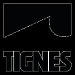 Tignes logo noir